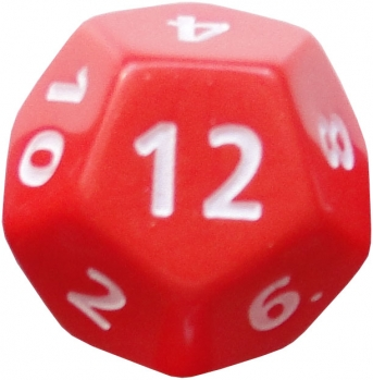 12 sided die the money commando